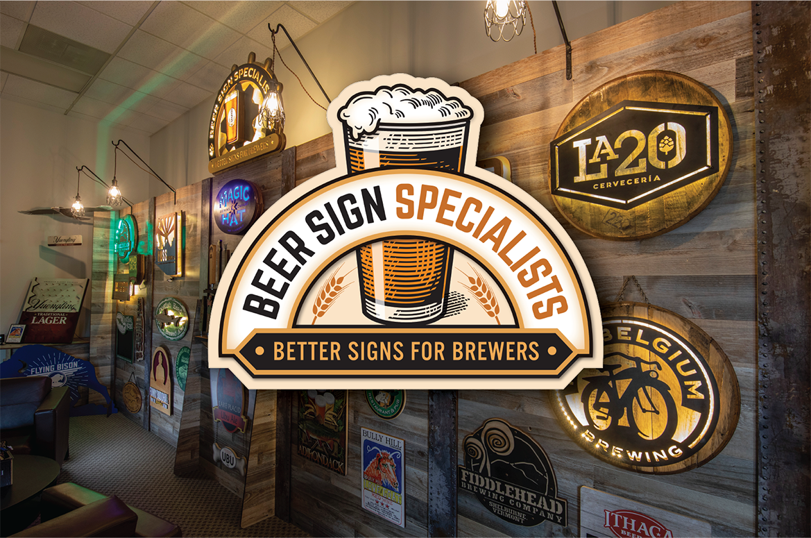 Beer Sign Specialists Logo and Introduction