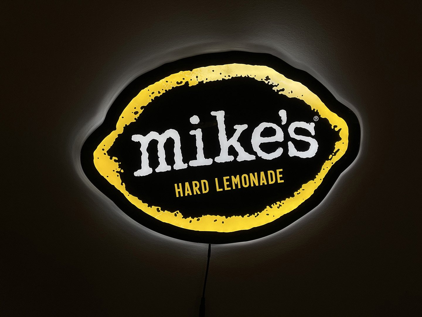 Mikes Hard Lemonade by Beer Sign Specialists
